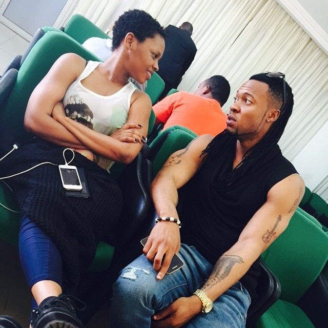 See The Sexy Intimate Photo of Chidinma & Flavour that has got everyone talking