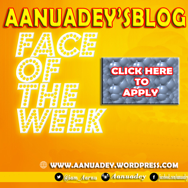 FACE OF THE WEEK yellow copy